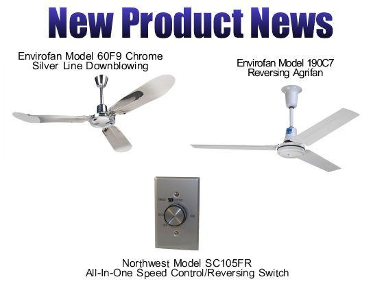 Northwest Envirofan Industrial Commercial Ceiling Fans