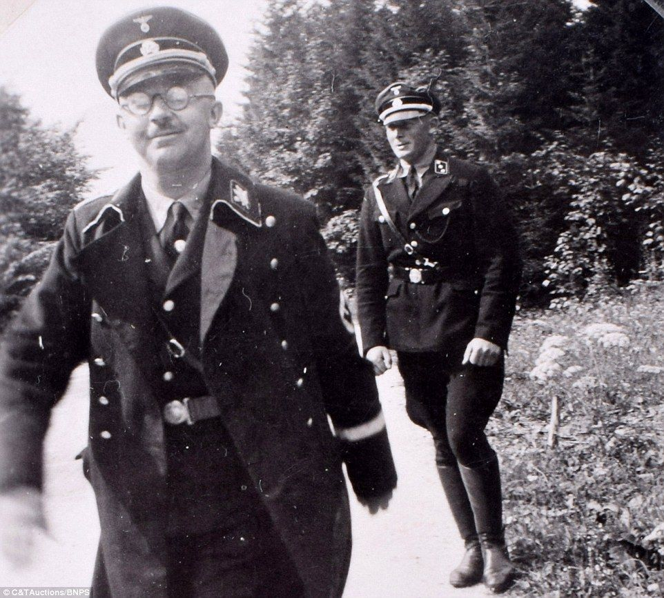 Never-before-seen shots of Hitler revealed in album found ...