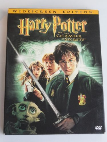 Details about Harry Potter and the Chamber of Secrets (DVD, 2003, 2-Disc Set, Widescreen)