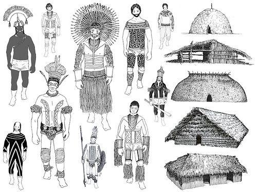 pintura corporal indígena grafismos xingu brasil tribos