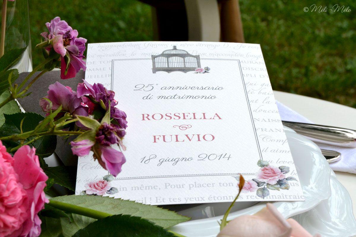 Anniversario Matrimonio Toscana : Biglietto per ° anniversario di matrimonio carte pour