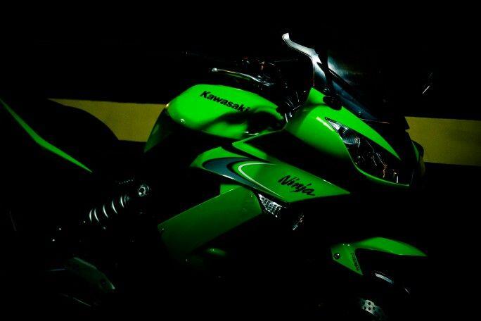 Kawasaki Ninja 650r Lime Green