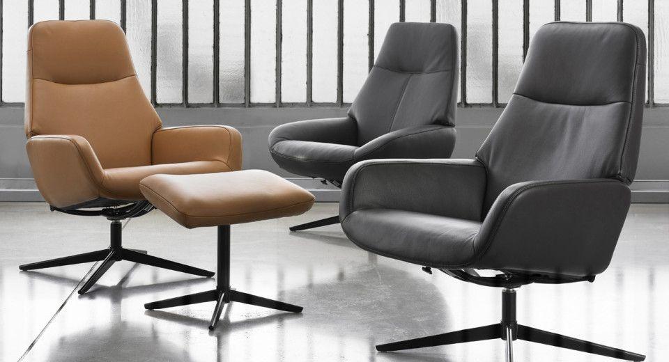 Choisissez ce fauteuil de cuir inclinable pour pléter votre décor