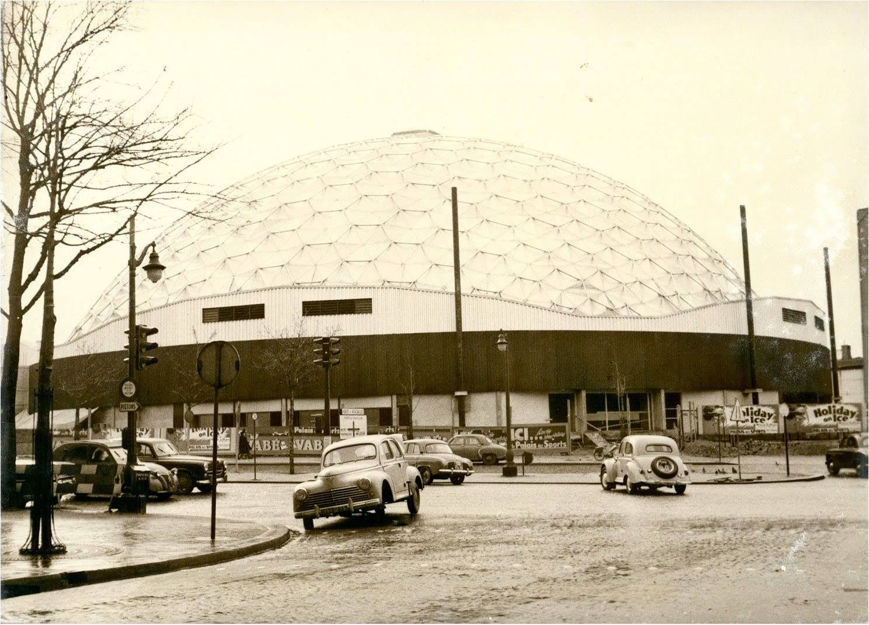 Porte de versailles vers 1961 o la construction du nouveau palais des sports aujourd 39 hui - Palais des sports porte de versailles ...