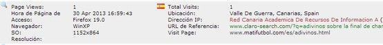 Red Canaria Académica de Recursos de Información. Valle de Guerra, Canarias, Spain.
