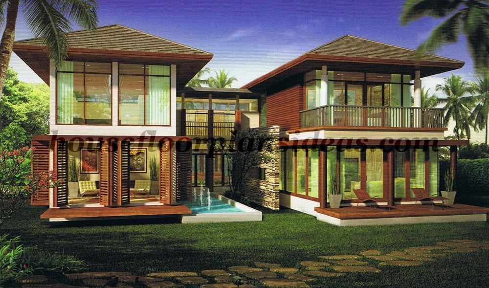 tropical modern house exterior | tropical modern402 Modern House Exteriors House Exterior Design Modern & tropical modern house exterior | tropical modern402 | House Designs ...
