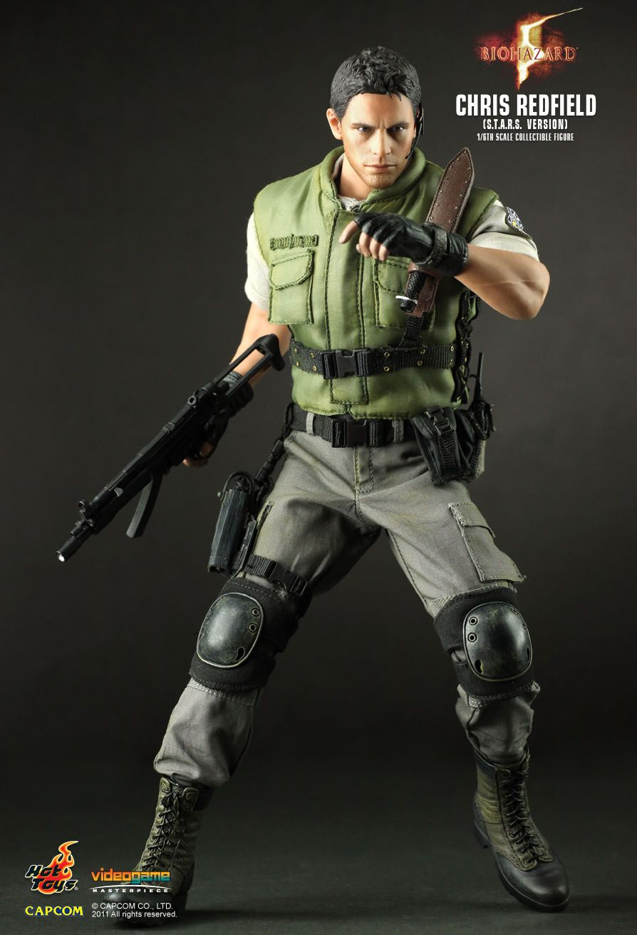 Hot Toys Biohazard 5 Chris Redfield S T A R S Ver 1