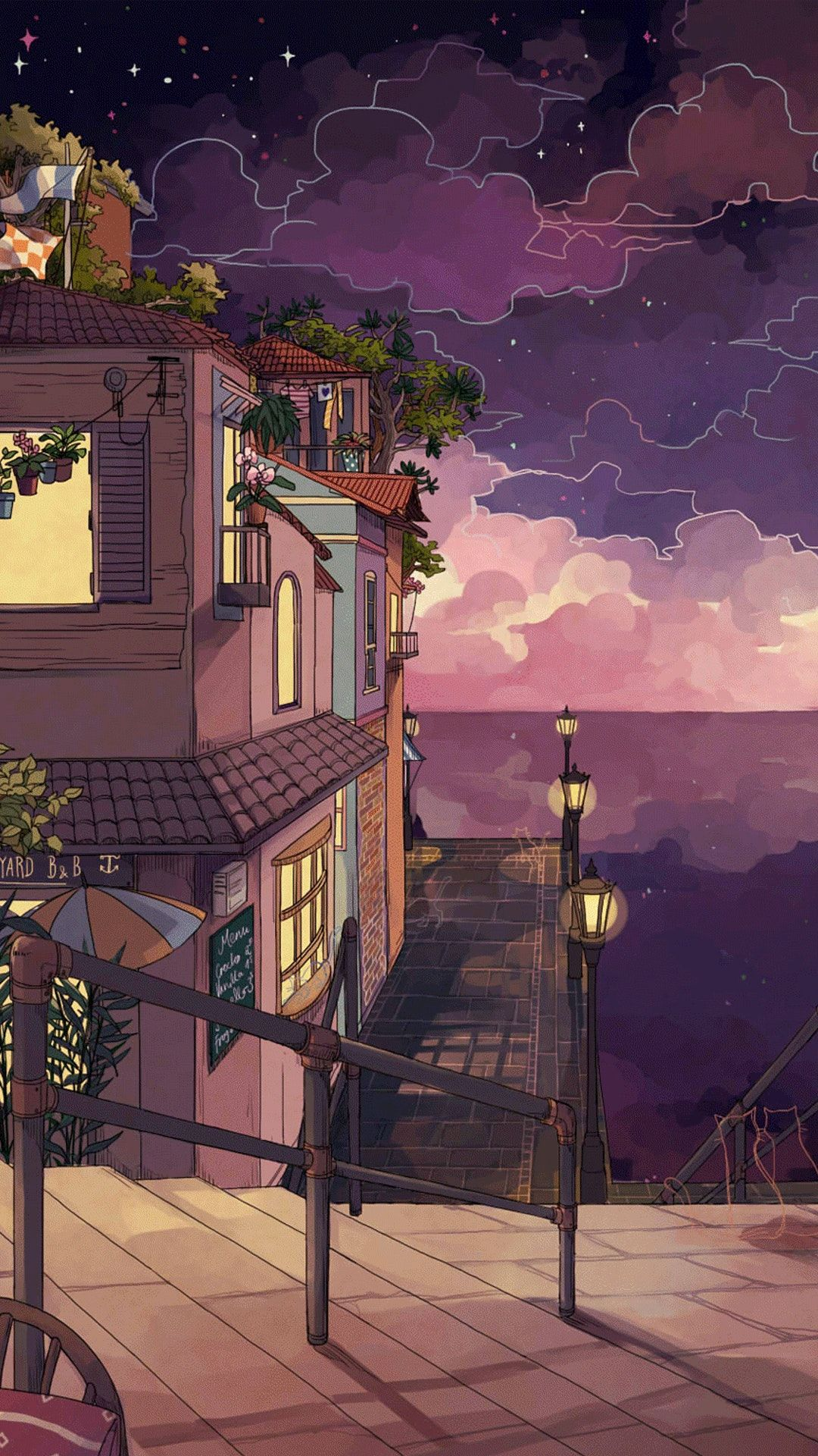 Idea By Anissa On Wallpaper Ponsel Anime Scenery