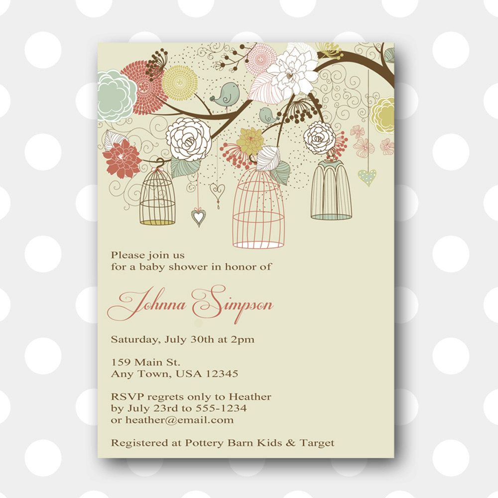 Super happy with this printable invitation for my sister's baby shower. Heather from inglishdigidesign is amazing.