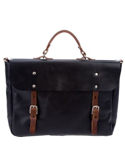 a1ad28b9d26 by Farfetch .com Black leather Richard bag from Ally Capellino ...
