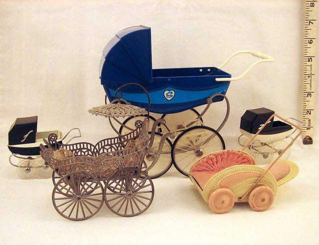 Vintage Miniature Prams