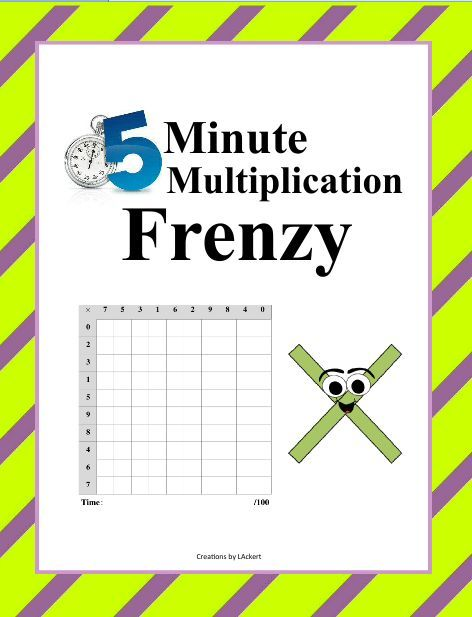 Fun  Minute Math Frenzy Downloads Available To Download Club