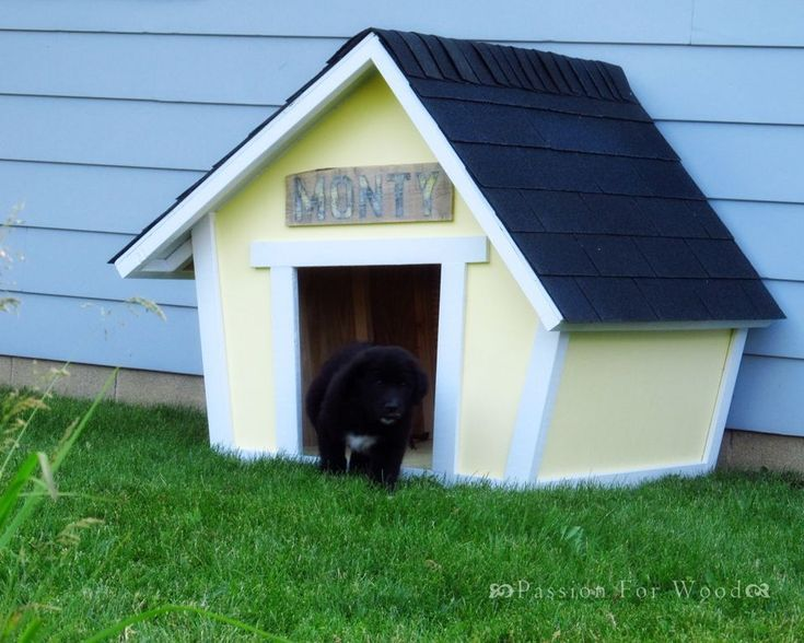 Build A Dog House With One Of These 15 Free Plans Dog Houses