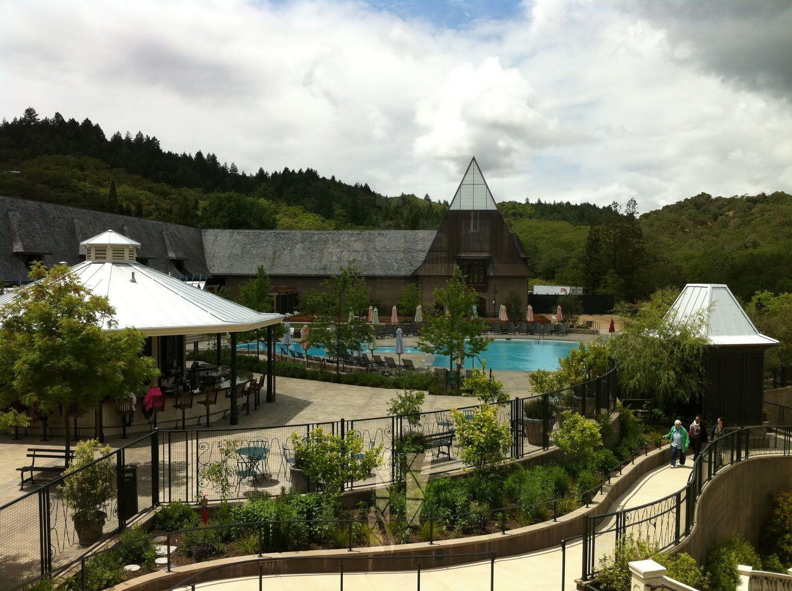 Coppola a big 'ol Napastyle winery in Sonoma. Pool