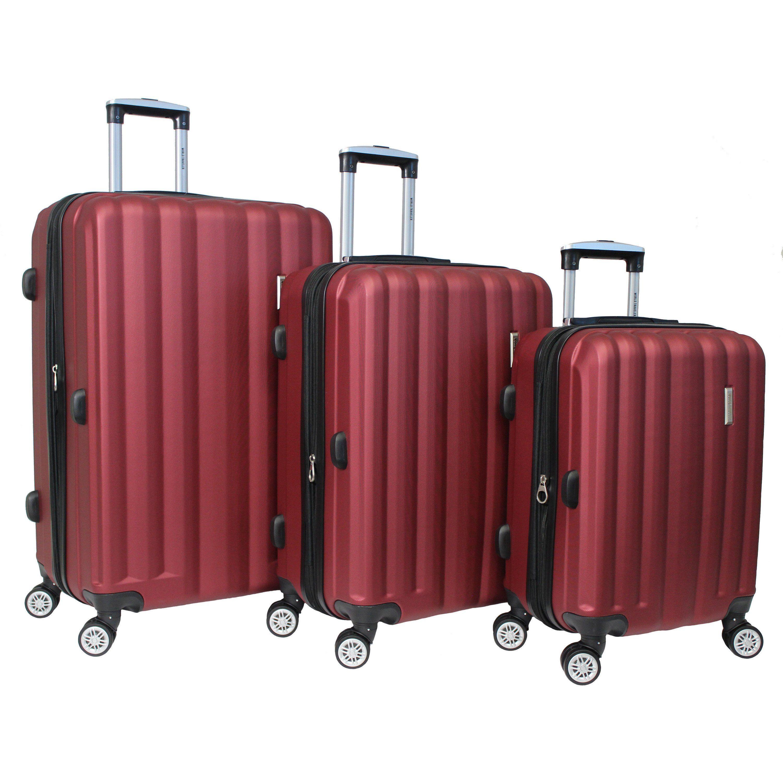 e2fdd501316d World Traveler 3-piece Lightweight Spinner Luggage Set with ...