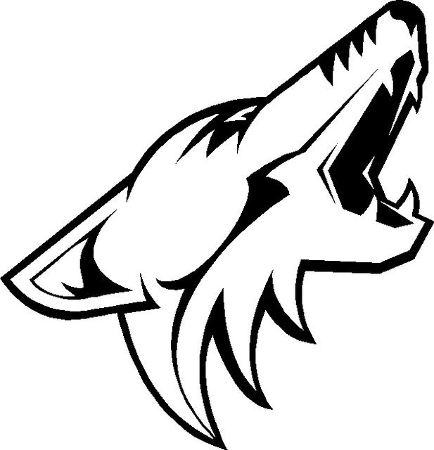 new custom nhl hockey teams phoenix coyotes vinyl decals