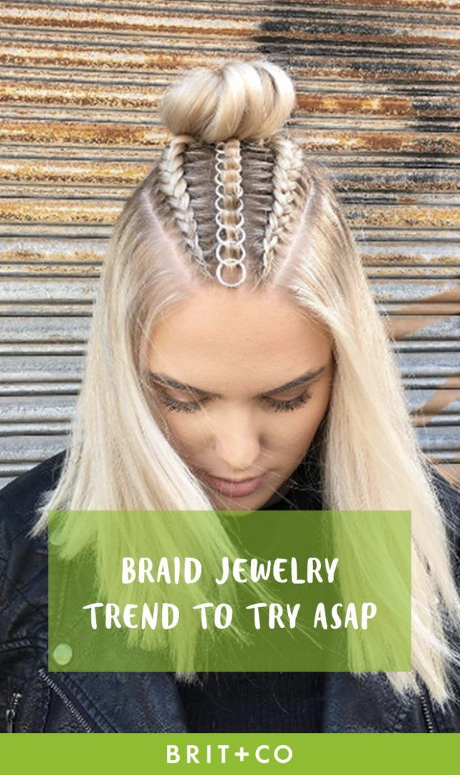 You Will Love This Braid Jewelry Trend F - Hair Beauty