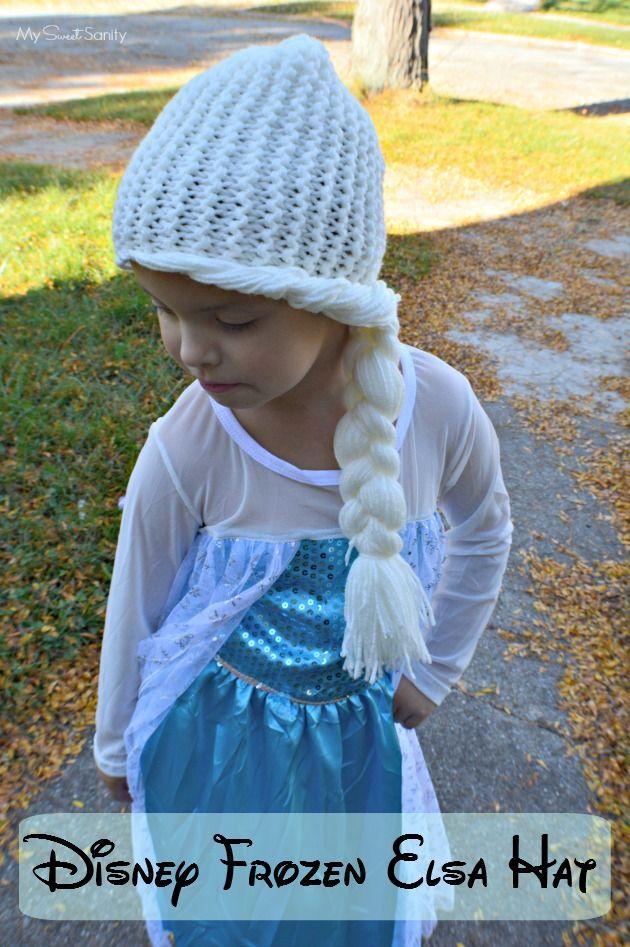 Handmade Disney Frozen Knit Elsa Hat | Anziehsachen | Pinterest ...