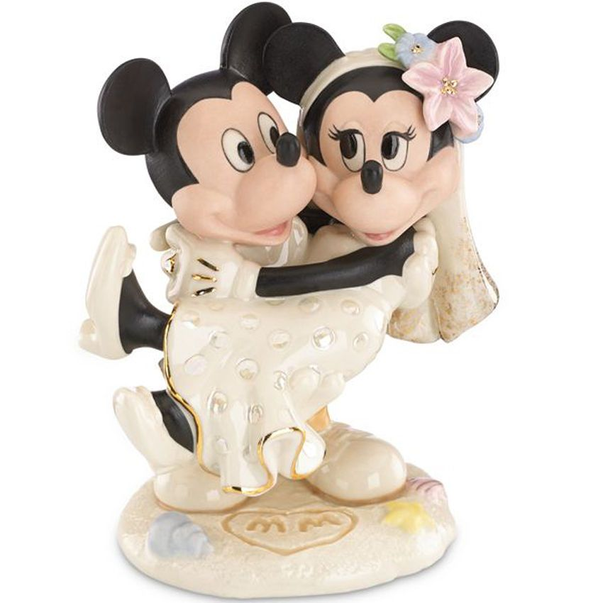 mickey and minnie mouse wedding cake toppers uk lenox disney minnie s wedding minnie amp mickey 17343
