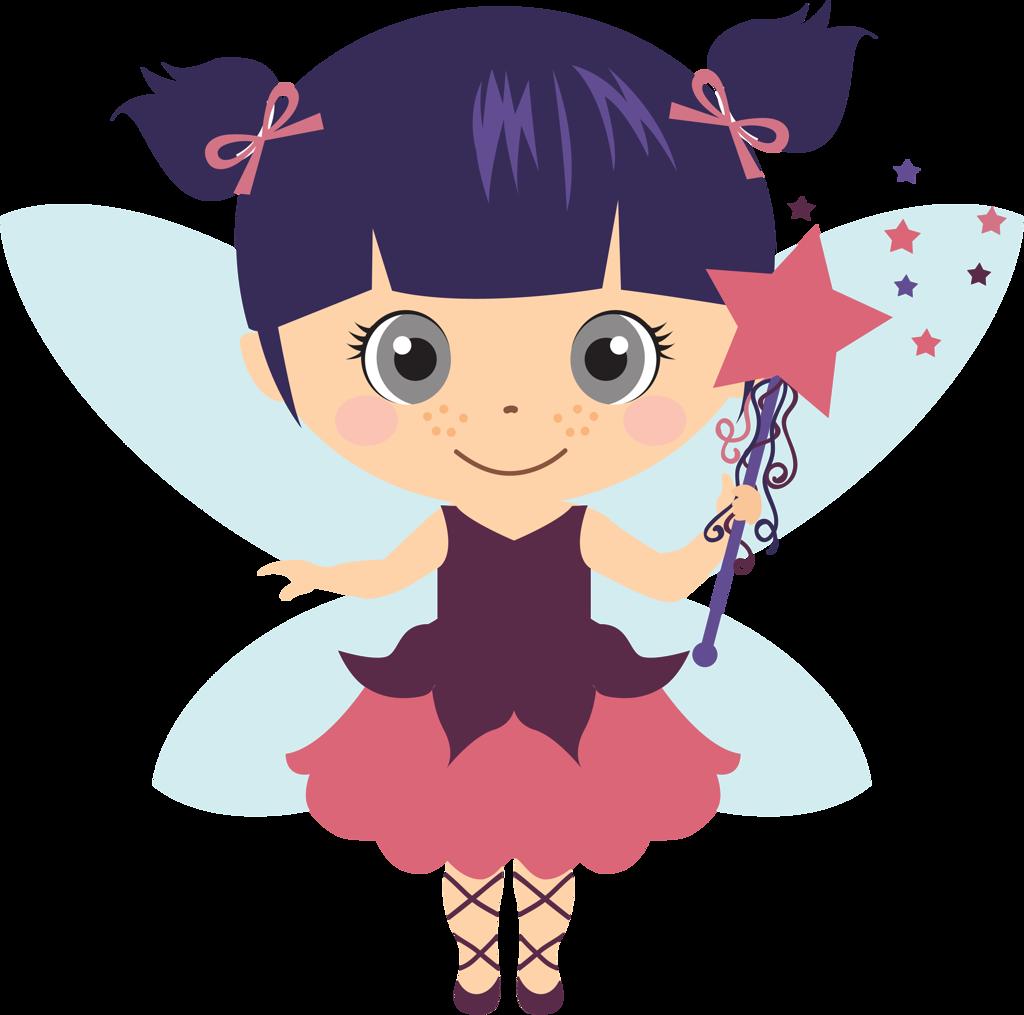 Pretty Fairy Clip Art