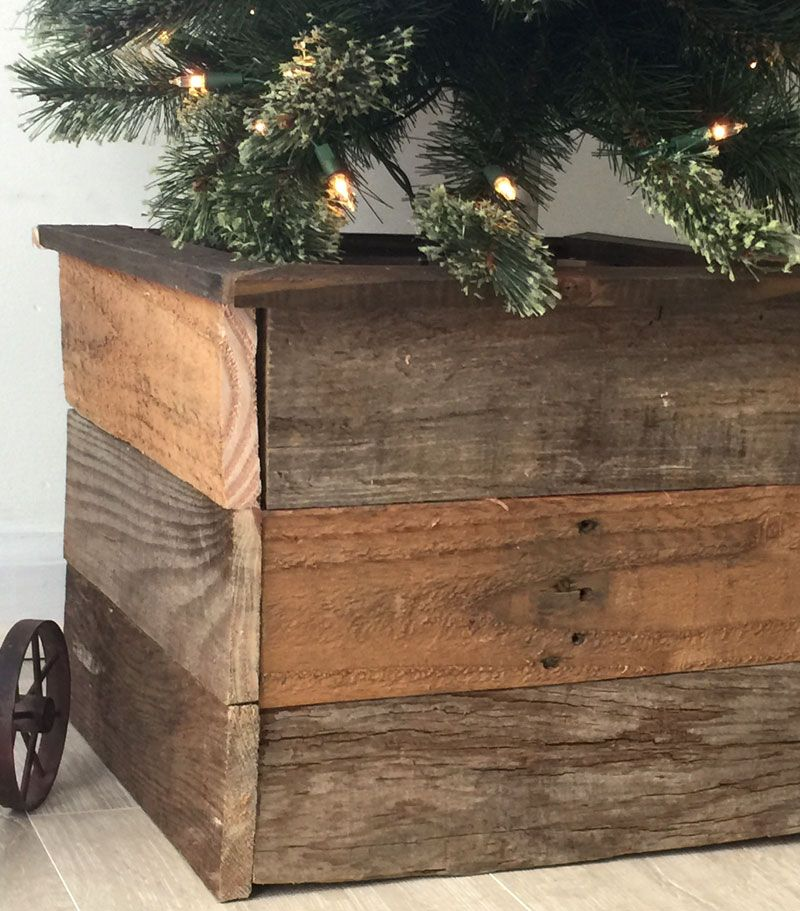 How To Make A Christmas Tree Box Create And Babble Christmas Tree Box Pallet Wood Christmas Tree Pallet Christmas