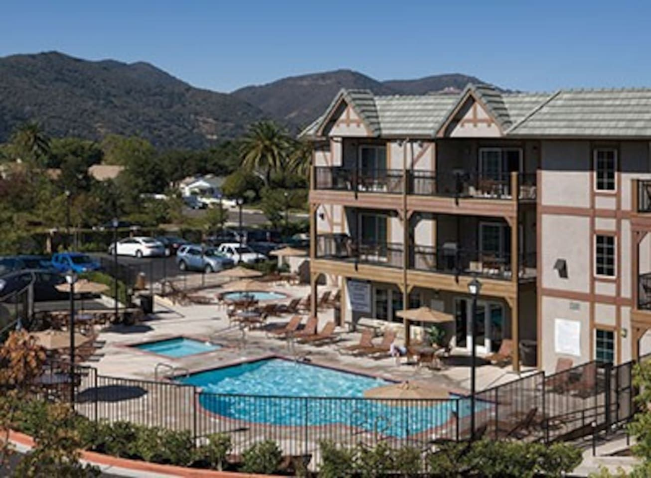 Solvang bdrm twin condo resort serviced apartments for rent in