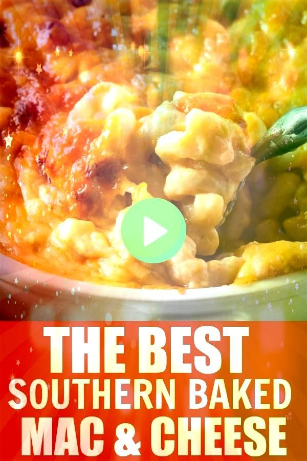 Style Baked Macaroni and Cheese The best macaroni and cheese recipe on Pinterest Southern Baked Macaroni and Cheese Classic downhome mac and cheese recipe that everyone w...