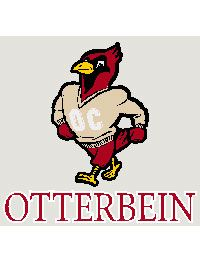 Product Otterbein Mascot Decal 3 95 Unique Decals Otterbein Mascot
