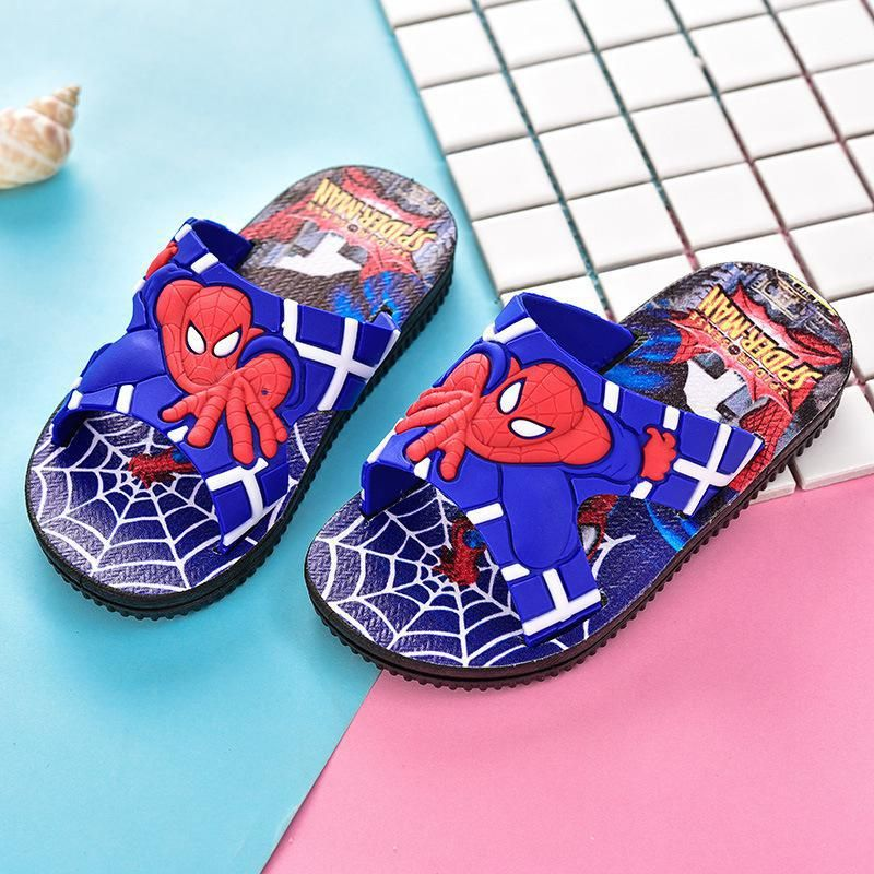 Sandals for children /& kids Spiderman Boys Flip Flops