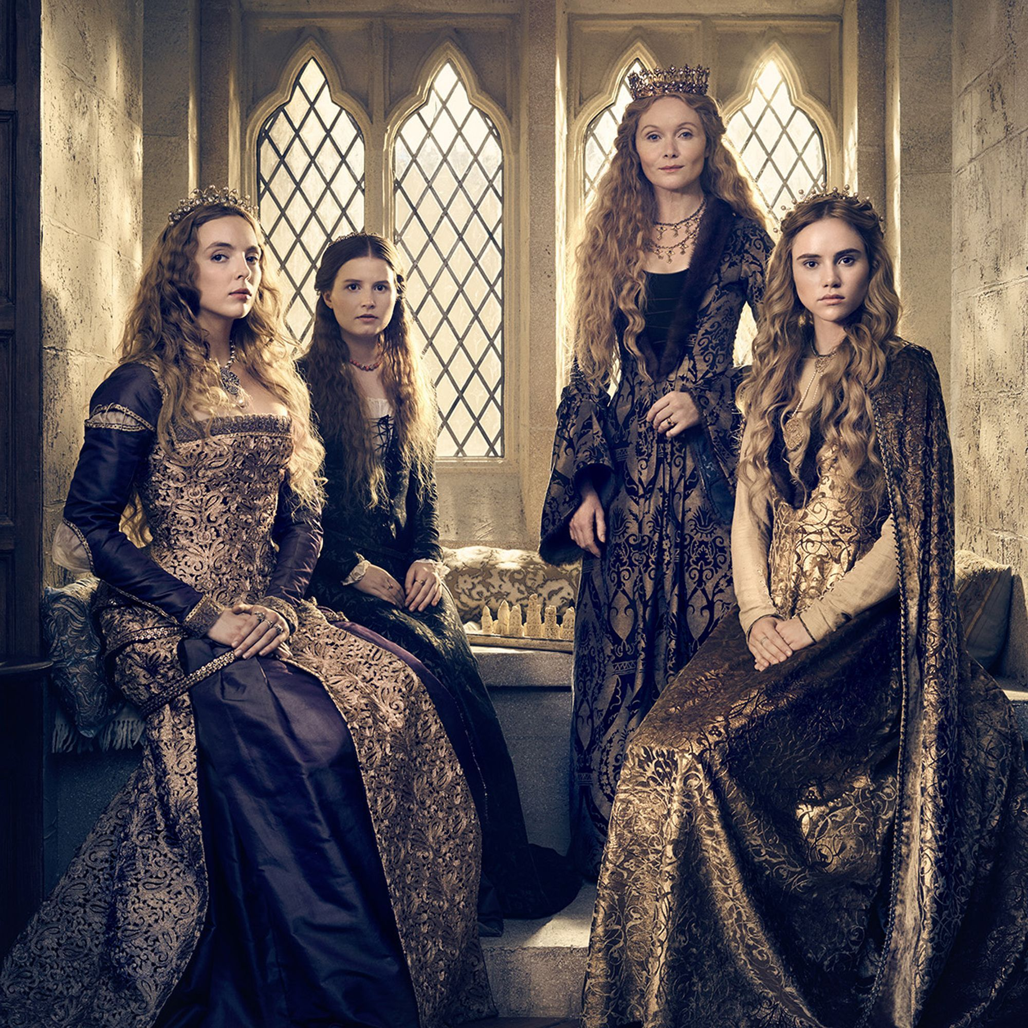 The One Thing You Probably Didn X27 T Notice About The White Princess Refinery29 The White Queen Starz The White Princess Starz The White Princess