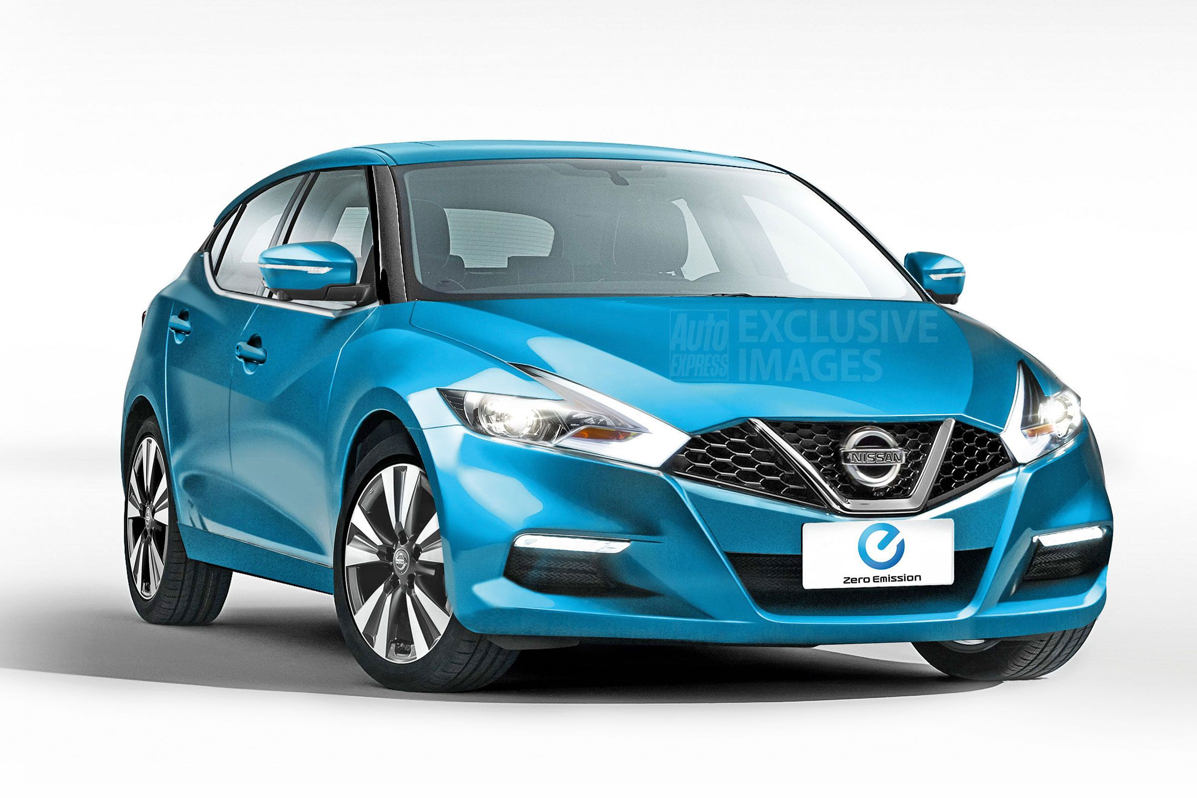 new car release 2016 ukExclusive images show better look for new Nissan Leaf while new
