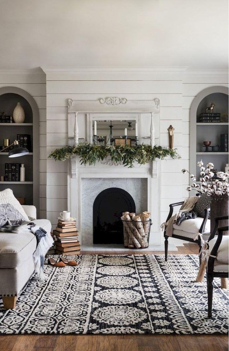 29 Living Room Interior Design: Modern Farmhouse Living Room Decor Ideas (29)