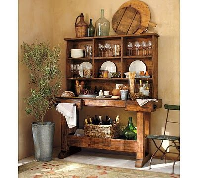 Pottery Barn Markham Console Bar Amp Hutch Favorite Places