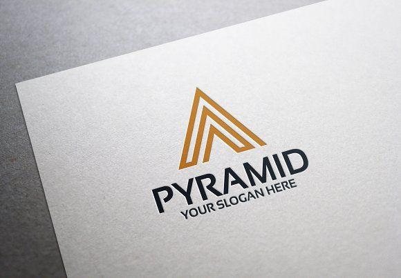 Pyramid Logo By Alfitranoor On Creativemarket  Top Trending