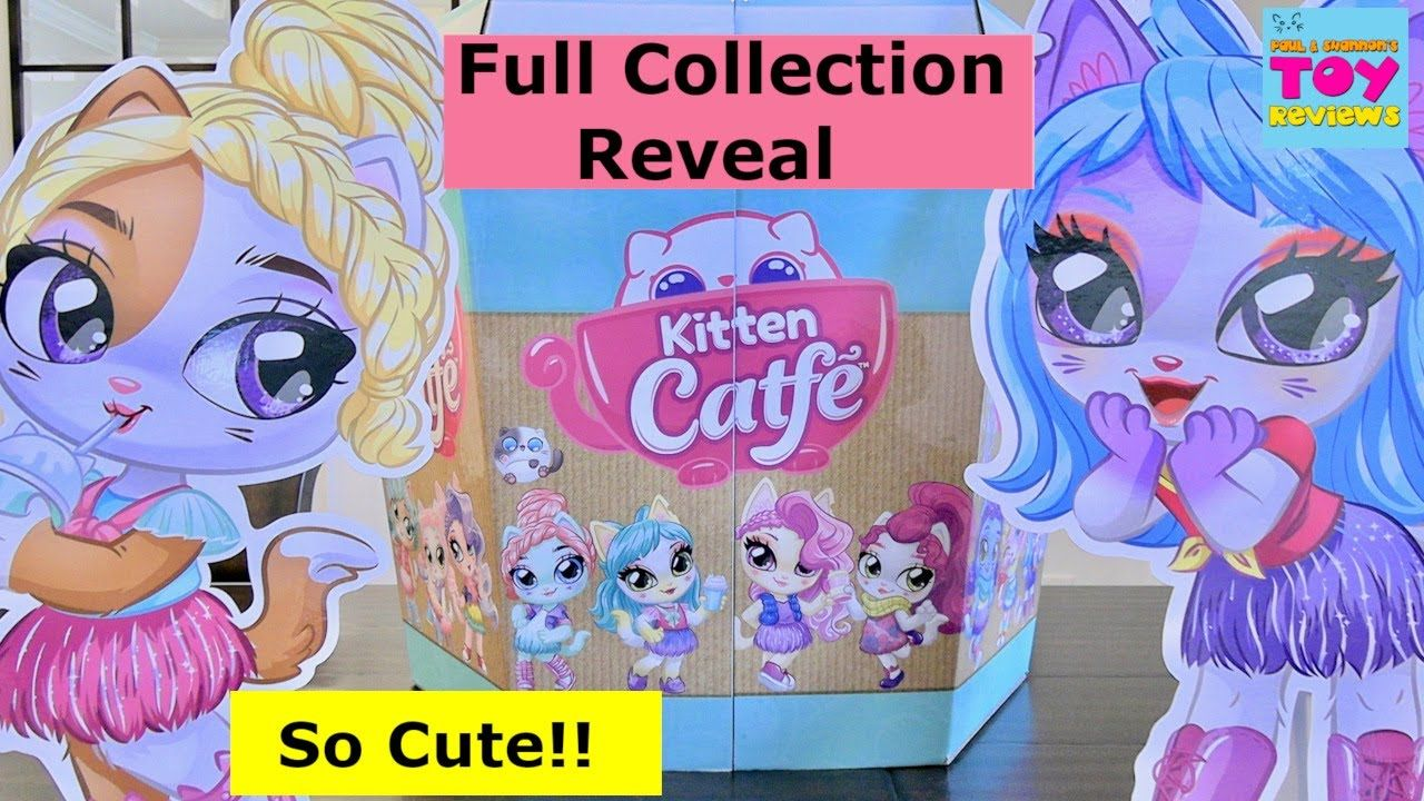 Kitten Catfe Purrista Girls Brand Launch Blind Bag Doll Unboxing Pstoyreviews Youtube In 2020 Kitten Cute Kitten Gif Blind Bags