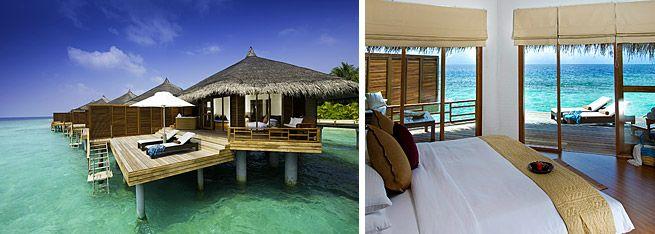 Water Villas Kuramathi Island Resort Maldives Island Resort Water Villa Resort