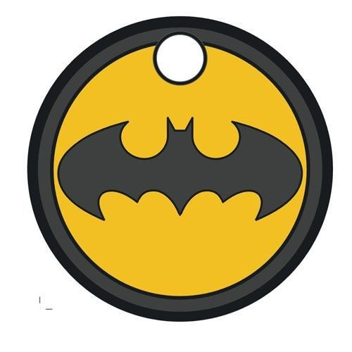 Batarang Pathtag Geocaching Metal Tags Art