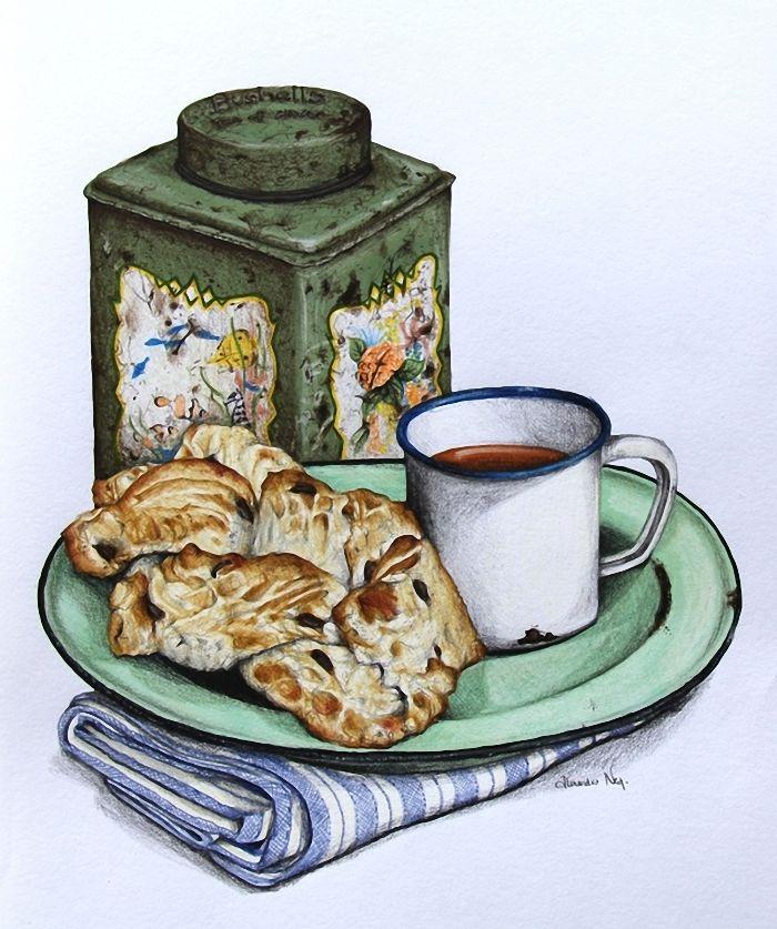 крупные винтажные картинки в стиле прованс завтрак существует идеального резюме
