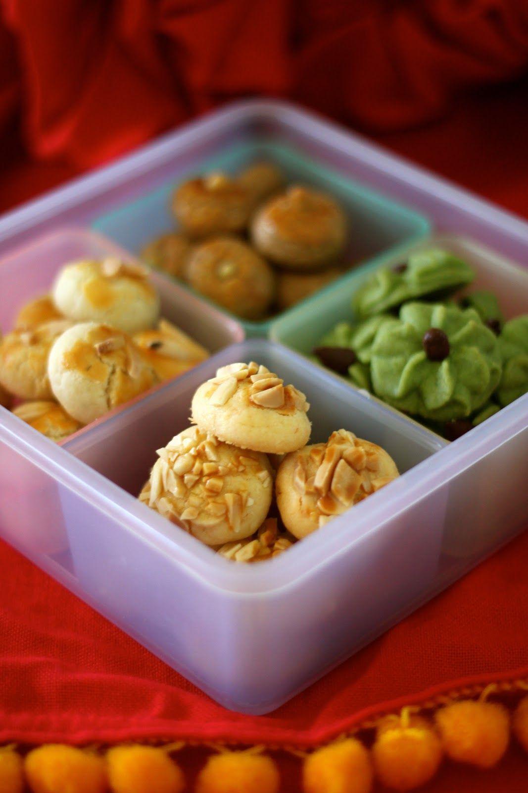 Jane's Corner 年饼(四款)CNY Cookies (4 types) Sugar cookies