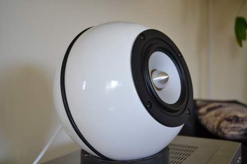 Spherical Speaker Enclosure Materials Blanda Matt Bowl Description Please See These Speakers .
