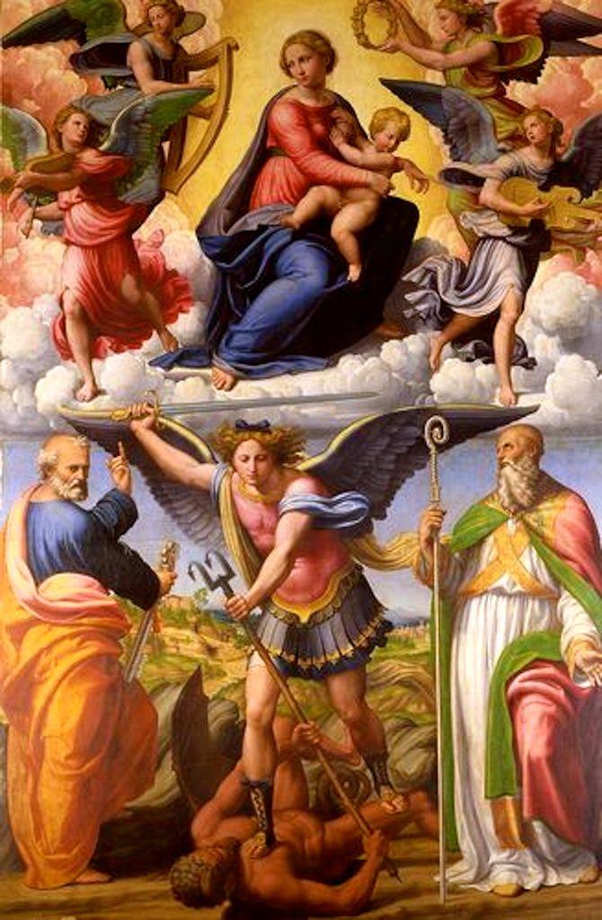 St. Michael Archangel   Archangel michael, Jesus christ images ...