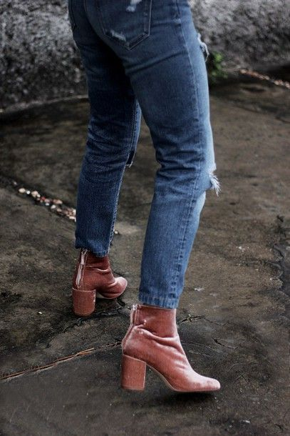 Boot Ankle heels tumblr pictures forecasting to wear for autumn in 2019