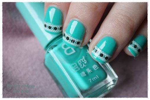 NOTD: Vintage turquoise ~ By Dee make-up and more
