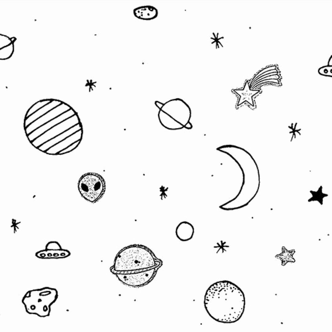 Spacecraft Coloring Pages Lovely Space Aesthetic Drawings Kesho Wazo Space Drawings Outer Space Drawing Aesthetic Tumblr Backgrounds