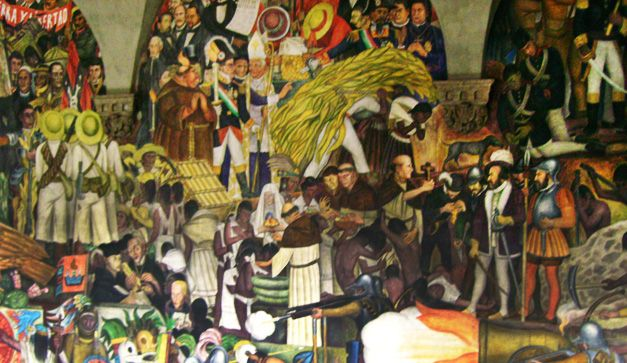 La Epopeya del Pueblo Mexicano por Diego Rivera (Los murales de ...
