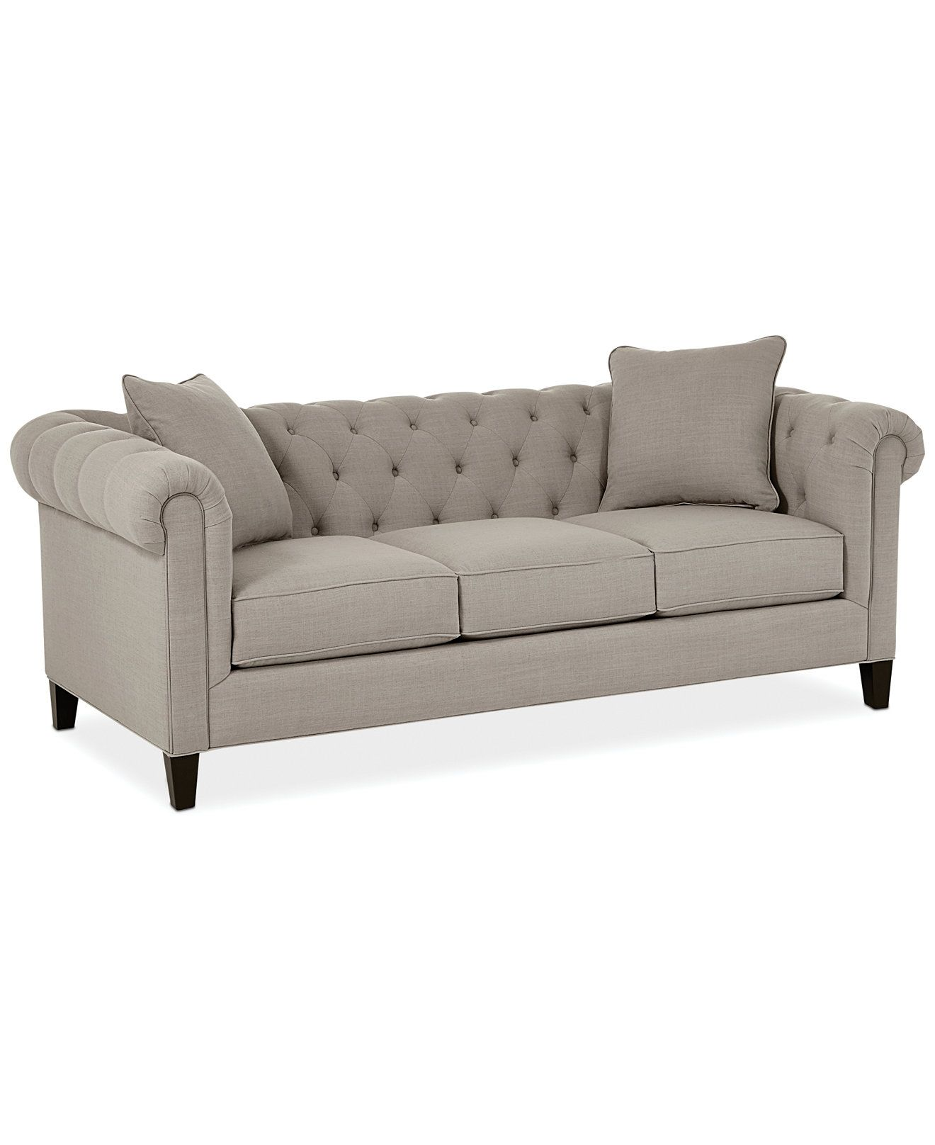 Rayna II Fabric Sofa Living Room Furniture Furniture Macy s