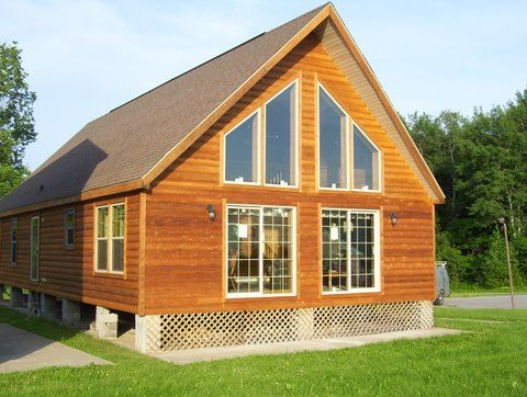 Easiest Way To Get What I Want Titan Mo680 Chalet Modular Home Modular Homes Log Home Plans Manufactured Home