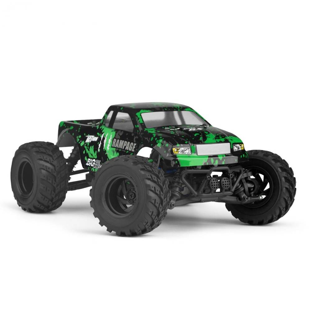 Haiboxing 18859e Rampage 1 18 2 4g 4wd Electric Off Road Monster Truck Vehicle Rc Car Rtr Red Remote Control Cars Rc Cars Monster Trucks