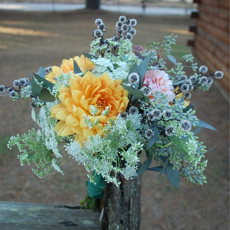 Bouquet by Madeline Trait.