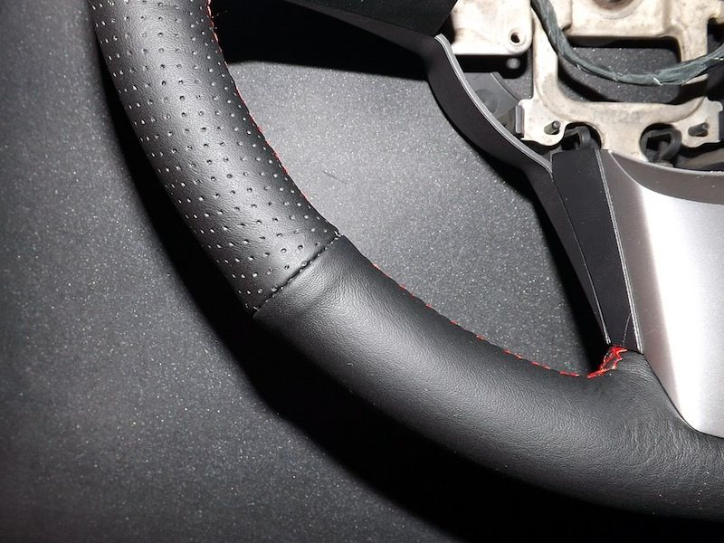 Napa Leather Steering Wheel Restoration 129 Steering Wheel Custom Cars Custom Leather